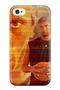 Pretty WWBbiCg1950rxQgL Iphone 4/4s Case Cover/ Tim Duncan Series High Quality Case