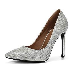 Pointed Toe High Heel Slip On