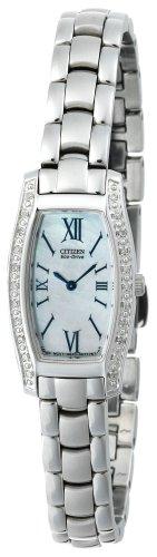 Citizen Women's EG2550-59D Eco-Drive Silhouette Diamond Accented Watch