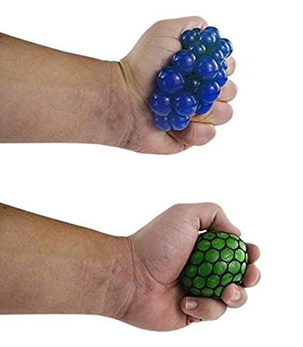 Squish Ball - Mesh Squishy Ball (Pack of 12)