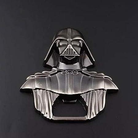 """LYX Sacacorchos, Guerrero Negro abridor Llavero,""""Star Wars"""" Darth Vader llavero de metal - cerveza abridor de vino de regalo"""