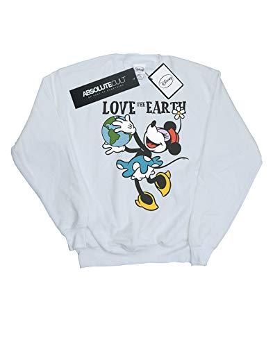Earth Camisa Mouse Disney The Mujer Blanco Mickey Entrenamiento De Love qXwaZCU