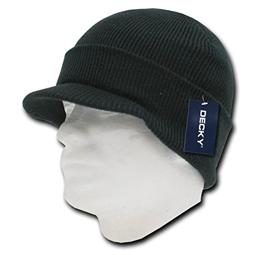 DECKY Jeep Cap, Black