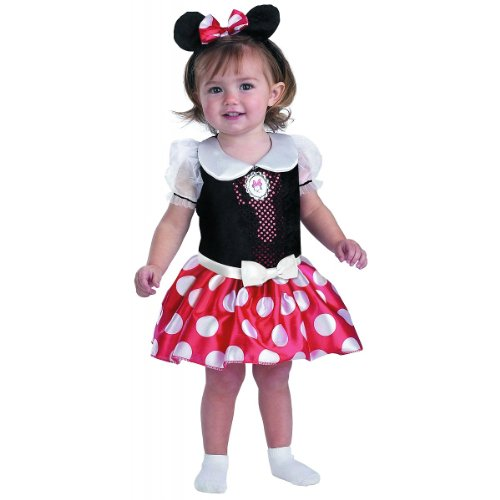 Disney Minnie Mouse Classic - Size: 3T - 4T (Girl Mickey Mouse Costume)