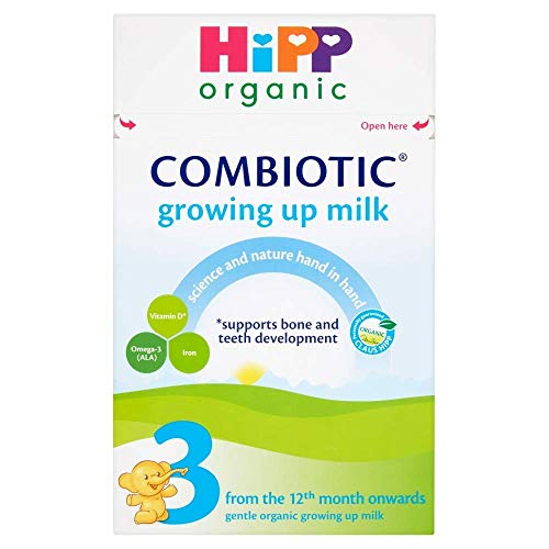 HiPP Organic 3 From The 12th Month Onwards Growing Up Milk 600g (Pack of 2)