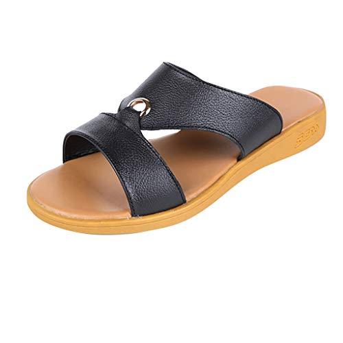 - Women's Wide Width Slide Sandals,ONLYTOP Women Comfy Platform Sandal Shoes Summer Beach Travel Shoes Fashion Sandals Black
