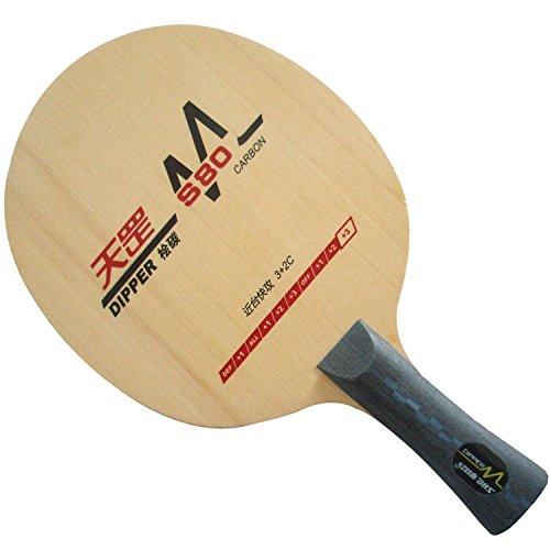 DHS DIPPER DM.S80 Table Tennis (Ping Pong) Blade, Long(Shakehand)-FL