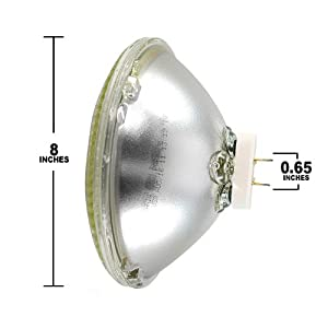 Lamplite 500 Watt Par 64 Par Lamp With Mogul Plug Medium Flood