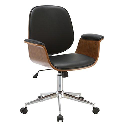 Porthos Home Idalia Office Chair, (Mid Century Office Chair)