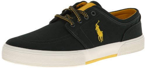 Polo Ralph Lauren Mænds Faxon Sk Vlc Sneaker Mose Grøn Ia2c9mJ
