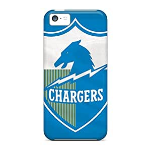 CaterolineWramight Iphone 5c Hybrid Tpu Cases Covers Silicon Bumper San Diego Chargers