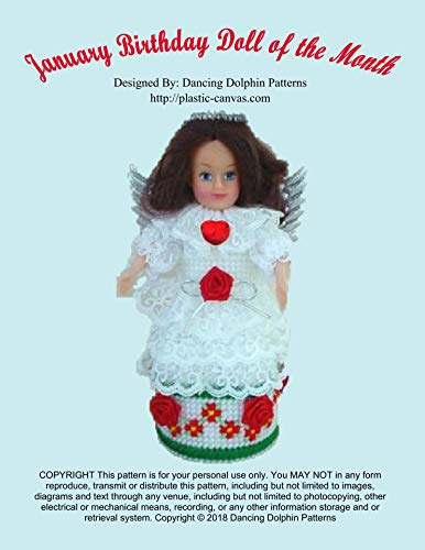 January Birthday Doll of the Month: Plastic Canvas ()
