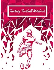 Fantasy football notebook: The Ultimate Notebook Organizer,Logbook, Journal - 110 pages, 6 x 9