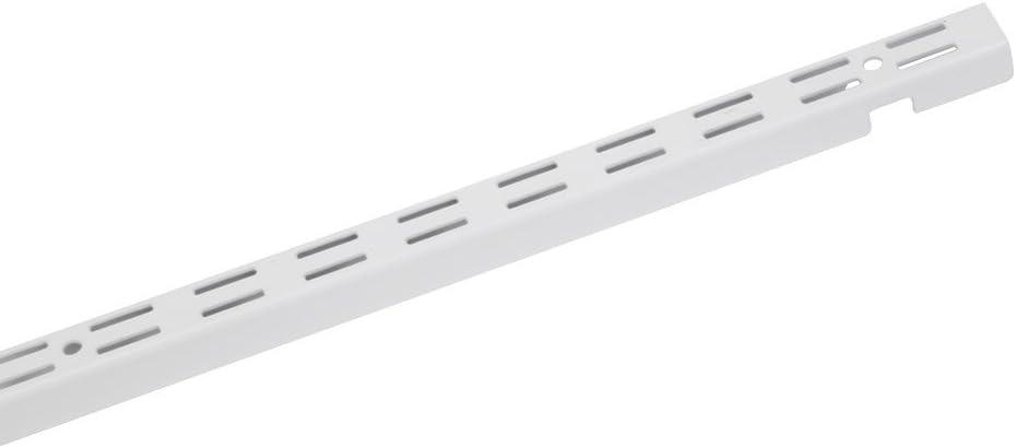 B00002N83Q ClosetMaid 2800 ShelfTrack 12-Inch Standard, White 412zsXXAo1L