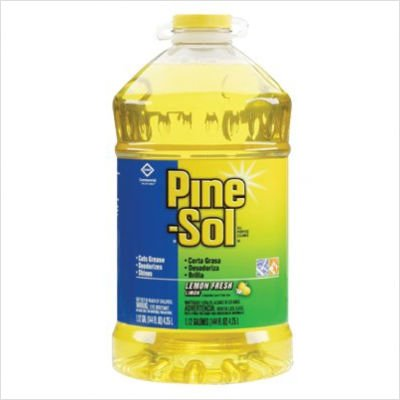 Pine-Sol All-Purpose Cleaner, Lemon Scent, 144 oz Bottle (3 Pack) - Scent 144 Ounce Bottle