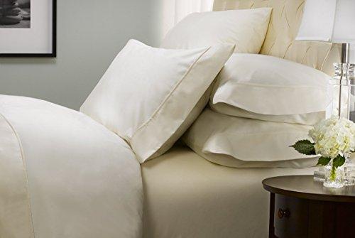 Kirkland Signature White 540 Thread Count Supima Cotton SIX Piece Sheet Set Divatex Cotton Fitted Sheet