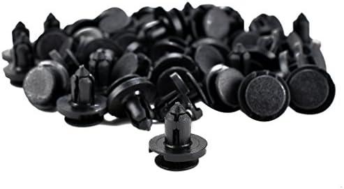 350pcs Car Auto Push Pin Rivet Trim Clip Panel Body Interior Assortment Set Top-Spring Universal Push Retainer Set