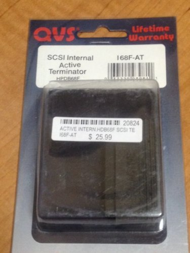 QVS UltraSCSI HPDB68 (MicroD68) Active Internal Terminator