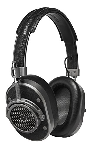 Master & Dynamic MH40 Over-Ear Headphones with Wire – Noise Isolating with Mic Recording Studio Headphones with Superior Sound