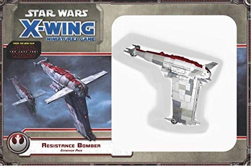 Fantasy Flight Games FFGSWX67Star Wars resistenza Bomber expansion Pack: X-Wing Miniatures Game, colori misti