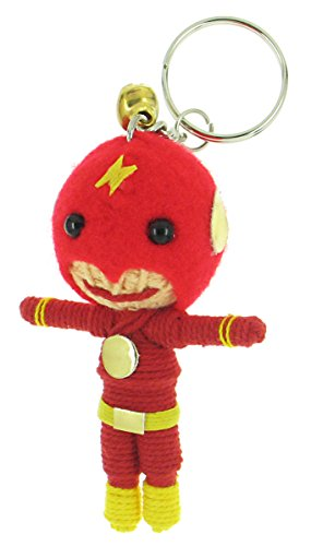 [Flash [Barry Allen] Voodoo String Doll Keyring Keychain] (Voodoo Doll Costume Child)