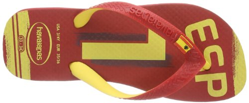 red Havaianas 1440 Tongs Teams Homme Rouge Ii S4xqgz4T