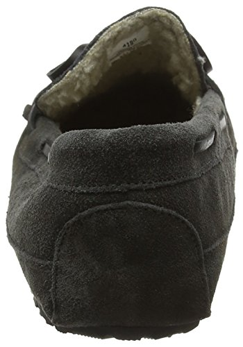 Minnetonka Casey, Mocassins (loafers) homme - Gris - Grey (Charcoal), 39.5