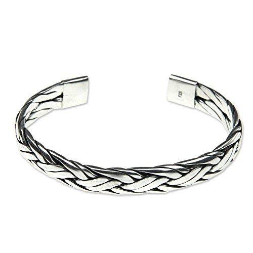NOVICA .925 Sterling Silver Bracelet, 6