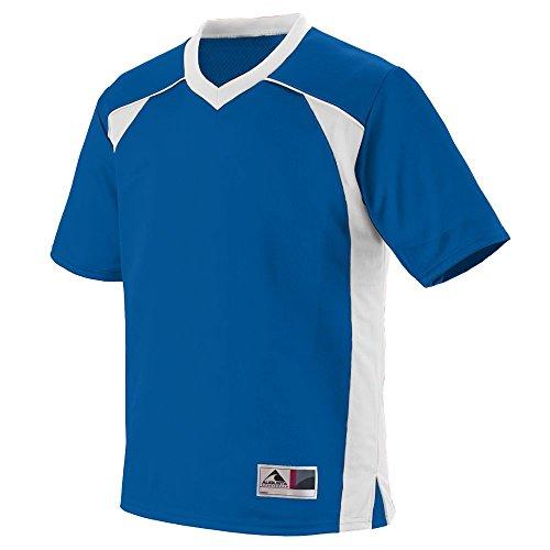 - Augusta Sportswear Men's Victor Replica Jersey M Royal/White