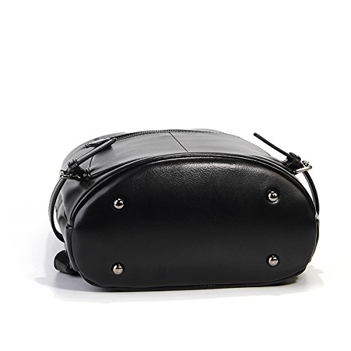 portés Girl Sac dos à Sac Sac portés main Noir LF 9002 fashion portés épaule main femme en E cuir Sac 6q4dwBv6