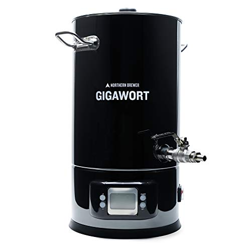 Northern Brewer - Gigawort Electric Boil Kettle - 4.4 Gallon For Homebrewing
