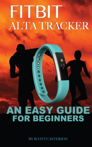 Picture of a Fitbit Alta Trackter An Easy 9781530376117