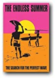(24x36) The Endless Summer Movie Holding Surfboard Poster Print