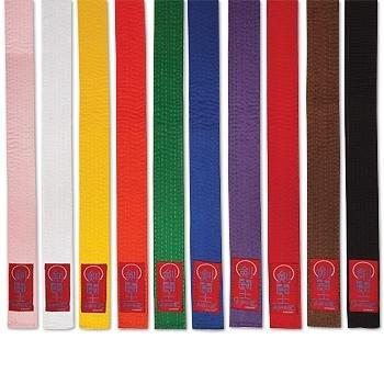 ProForce Gladiator Double Wrap Karate Belts - Brown
