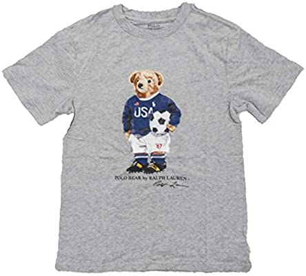 Ralph Lauren Little Boys Polo Crewneck Tee Solid