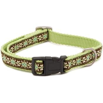 PetSafe Fido Finery Quick Snap Dog Collar, 3/4-Inch, Small, Fleur De Flea