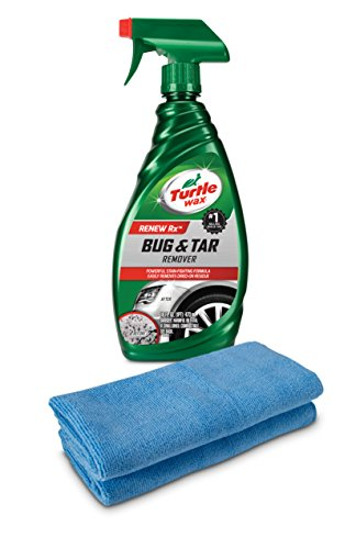 Turtle Wax T520A Bug & Tar Remover with 2 Microfiber ()