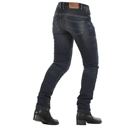 30 Imola Overlap azul Talla Homologados Mujer Jeans Ruta Gris 866HqPFf