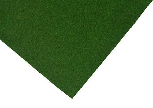 Hollandfelt 47P Felt sheets-47 6 Sheets 20x30cm-100% Wool, Loden Green, 20 x 30 cm (Loden Wool Green)