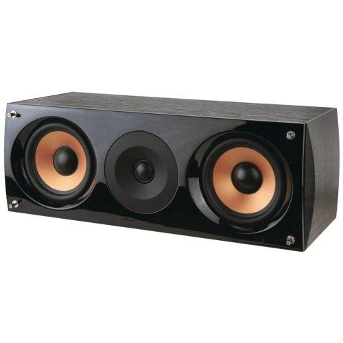 "Pure Acoustics Supernova Series Dual 5-1/4"" 2-Way Center-Channel Speaker Black, Gloss Black SUPERNOVA-C"