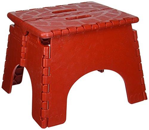 -Z Foldz Red Step Stool ()