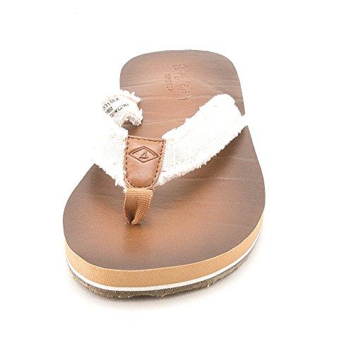 Sperry Top-Sider Mujer Topsail mástil flip-flop nos Ivory