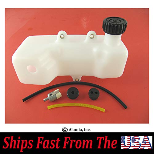Original Mantis Tiller Fuel Tank KIT,131005-11521,Fits Mantis with 2-Cycle Engines Old Style with Single and Two Fuel Hoses