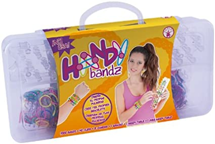 Handy Bandz - Maletín con 1000 gomitas pulseras (Rubies S0539) , color/modelo surtido