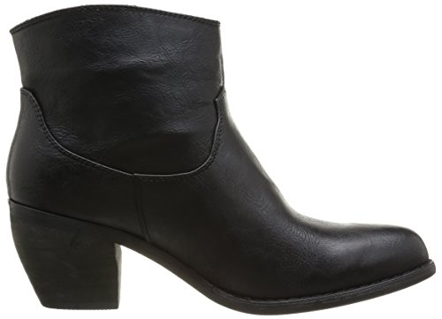 Damen 8 Stiefel Stiefeletten Noir amp; Kaporal Schwarz Schwarz Wesley 5c0fO04gz