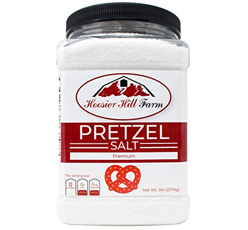 Hoosier Hill Farm Coarse Pretzel Salt (5 pounds) (Best Western Broken Hill)