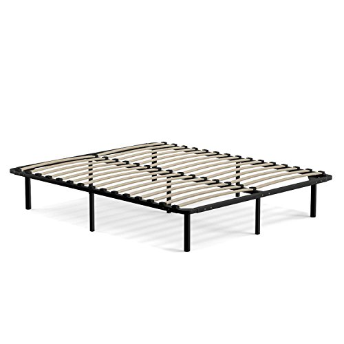 handy living wood slat bed frame queen by handy living aed 959 retail