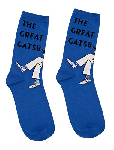 (Out of Print The Great Gatsby Socks Unisex)