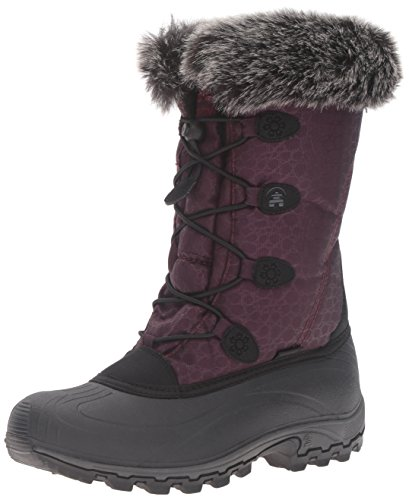 Kamik Women's Momentum Snow Boot, Burgundy, 8 M US ()
