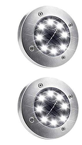Solar Ground Lights Disk Lights (Bright Light)